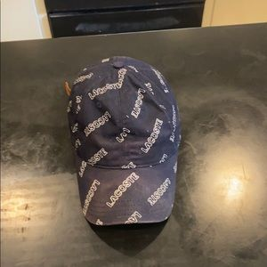 Gently used Lacoste hat